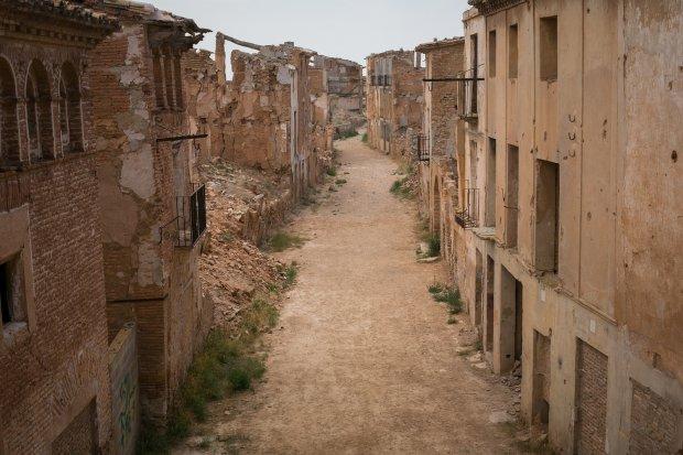 Belchite, Hiszpania