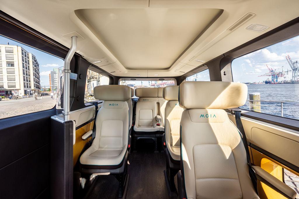 Autonomiczny pojazd MOIA/Volkswagen