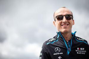 """Robert Kubica skomentował kwestię swojej przyszłości w F1. """"Nie wszystko zależy ode mnie"""""""