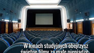 Bilety na weekendowe seanse w sieciowych kinach są bardzo drogie. Na szczęście są też inne możliwości, np. wycieczka do mniejszego kina studyjnego