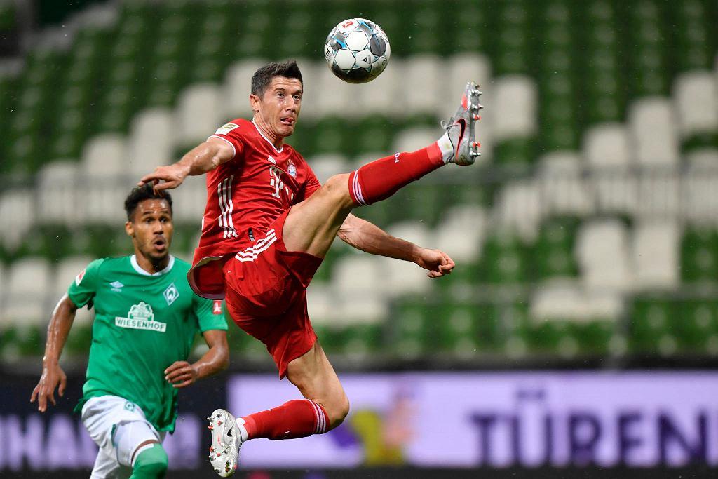 Robert Lewandowski znów strzelił, Bayern znów został mistrzem