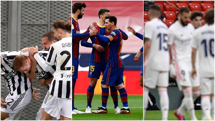 Juventus, Barcelona i Real Madryt dostały list od UEFA. Decyzja ws. gry w LM