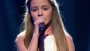 Olivia Wieczorek na krajowym finale JESC