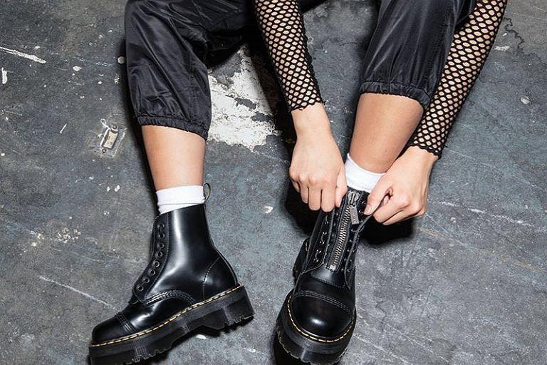 Jesienne trendy: sznurowane botki