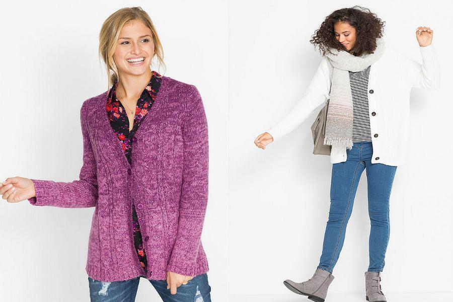 Swetry damskie rozpinane ciepłe