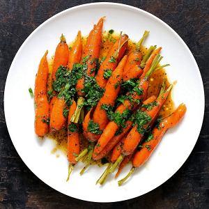 Glazurowane marchewki Vichy