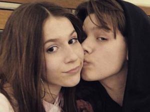 Roksana Węgiel z byłym chłopakiem