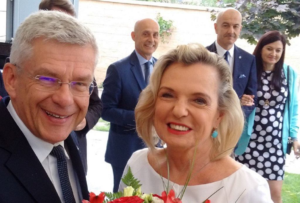 Marszałek Senatu Stanisław Karczewski, Anna Maria Anders