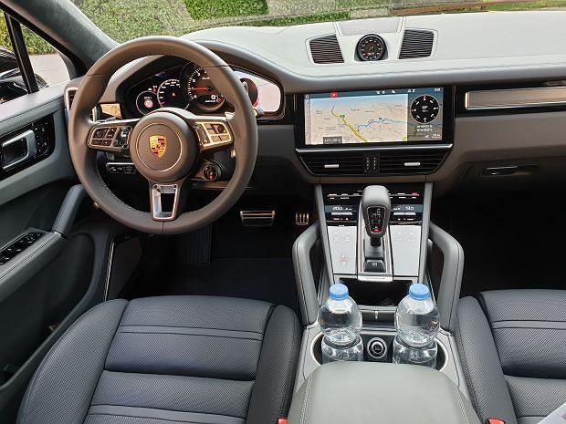 Porsche Cayenne Coupe - wnętrze