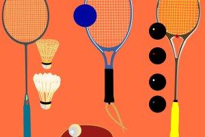 Racketlon - 4 sporty rakietkowe