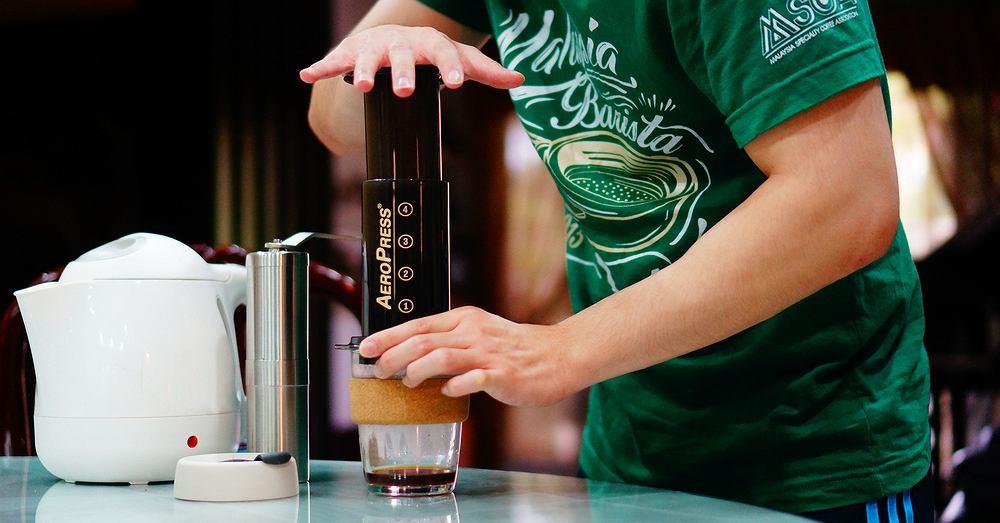 Parzenie kawy za pomocą AeroPressu