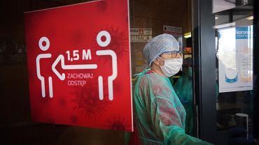 Wojewódzki Szpital Specjalistyczny w Częstochowie podczas epidemii koronawirusa