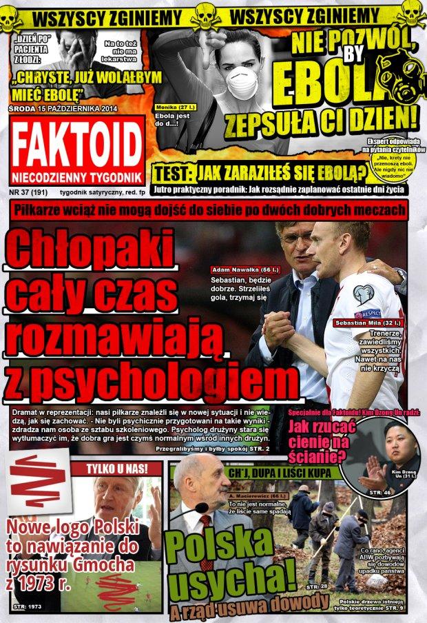 Faktoid, 15 października 2014, nr 37 (191) -  - Faktoid