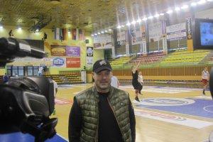 Mike Taylor odwiedził koszykarzy Rosy Radom