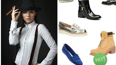 Damskie buty w męskim styl