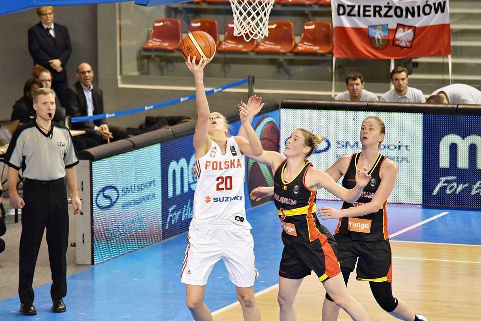 Polki przegrywają z Belgią 61:77. Z nr 20 Magdalena Szajtauer