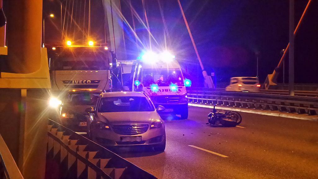 Wypadek na Trasie Siekierkowskiej