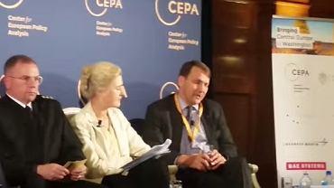 Radosław Sikorski na konferencji CEPA Forum