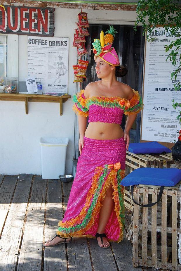 Kasia Mirecka na Florydzie w roli kubańskiej hostessy