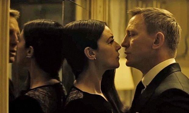 Daniel Craig i Monica Belucci w