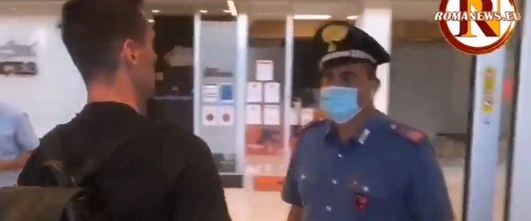 Arkadiusz Milik poleciał na testy przed transferem. Nagle zatrzymał go policjant [WIDEO]