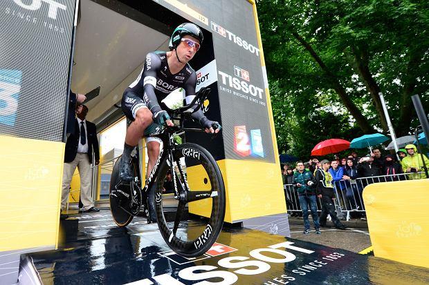 Maciej Bodnar wiceliderem Tour de Suisse. Do żółtej koszulki zabrakło 0,14 sekundy
