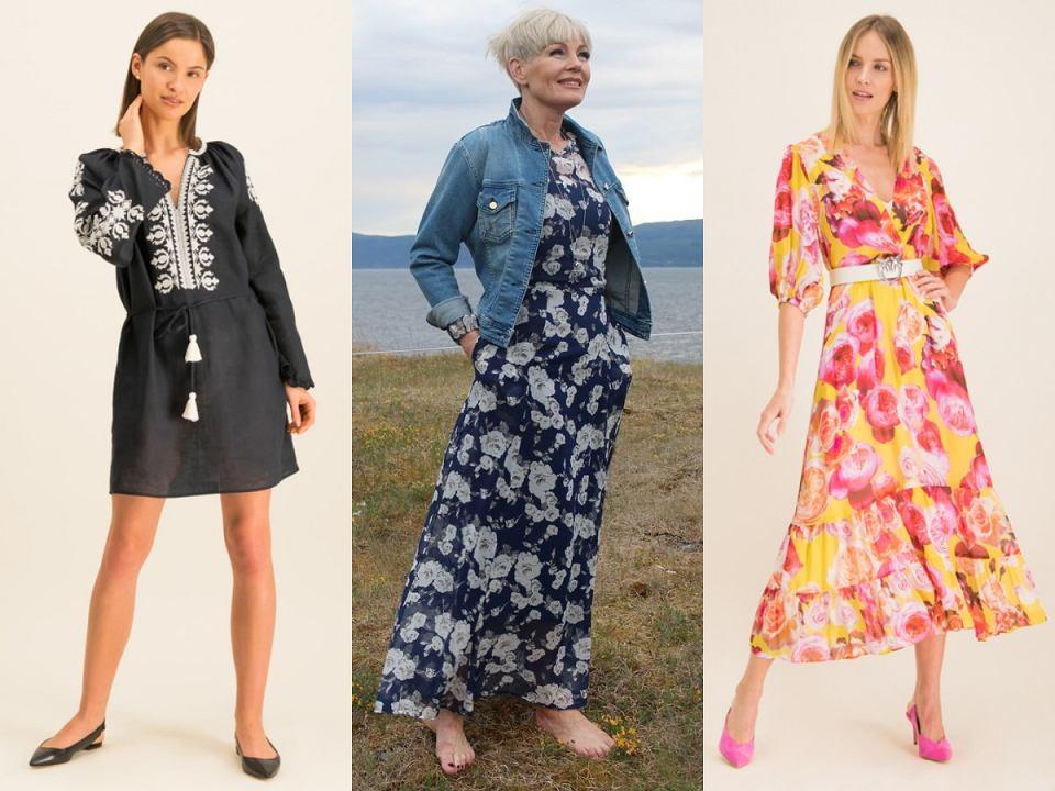 Sukienki boho dla kobiet po 50-tce