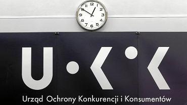 Logo Urzędu Ochrony Konkurencji i Konsumentów.