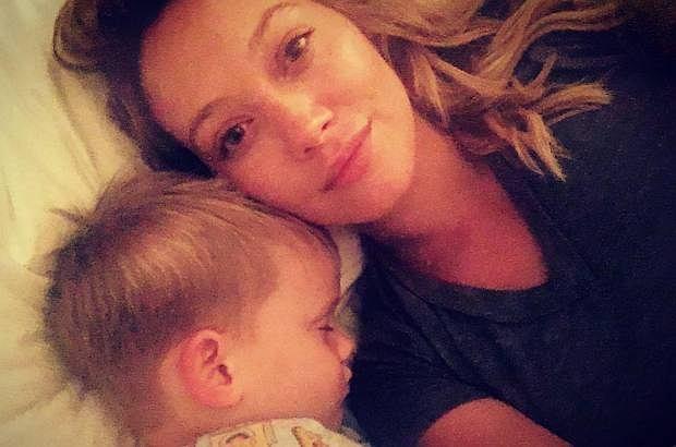 Hilary Duff z synem