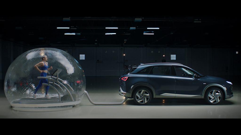 Wodorowy Hyundai Nexo - można oddychać jego 'spalinami'