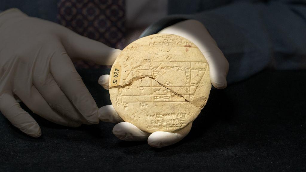 Prawdopodobnie najstarszy przykład geometrii stosowanej odkryty przez australijskiego matematyka