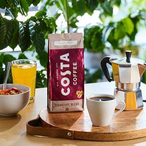 Costa Coffee wprowadza do sprzedaży kawę do przygotowania w domu