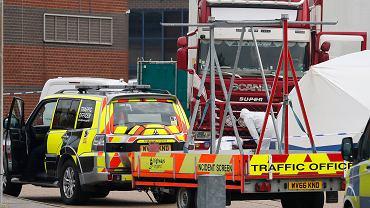 Wielka Brytania. W ciężarówce znaleziono ciała 39 osób