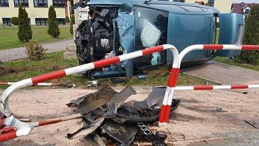 Wypadek w gm. Łososina Dolna