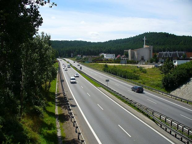 Express road S6 in Gdynia