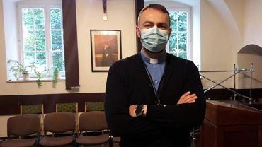 Kapelan szpitalny ks. Łukasz Pyda