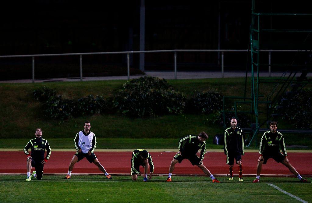 Hiszpania przygotowuje się do meczu z Gwineą Równikową