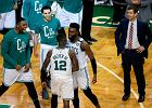 NBA. Szalone rzuty, kontrowersyjne decyzje i wygrana Boston Celtics. Pierwsza taka porażka LeBrona Jamesa