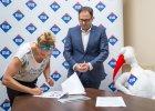 Aleksandra Urbańczyk ma nowego sponsora głównego. To łódzka firma