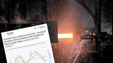 Produkcja stali surowej w listopadzie wzrosła o 16,4 proc. w ujęciu rok do roku