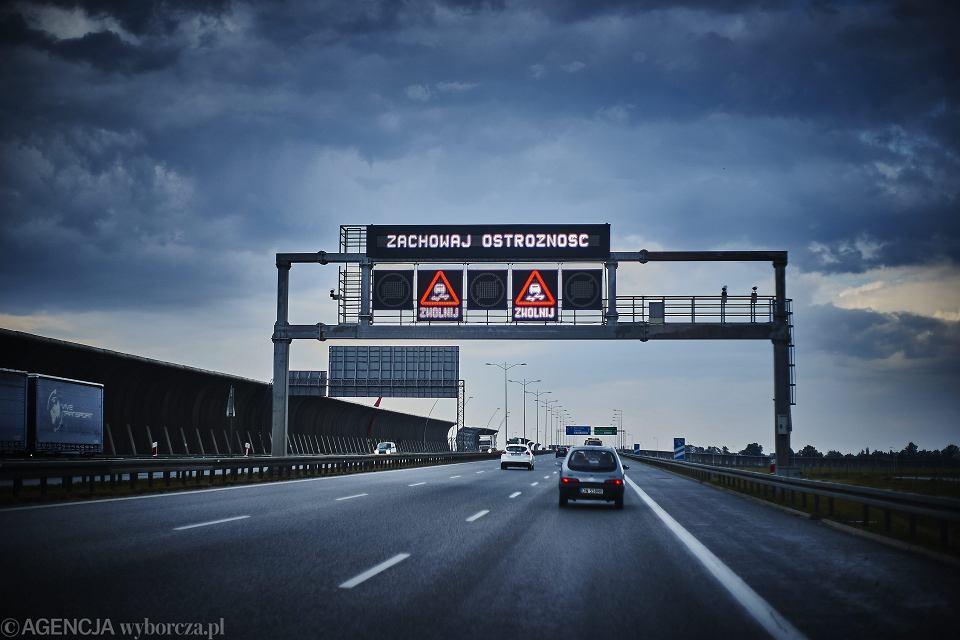 Autostrada A4 w okolicach Wrocławia