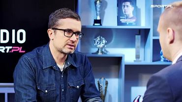 Szymon Jadczak w programie 'Dogrywka' w Sport.pl