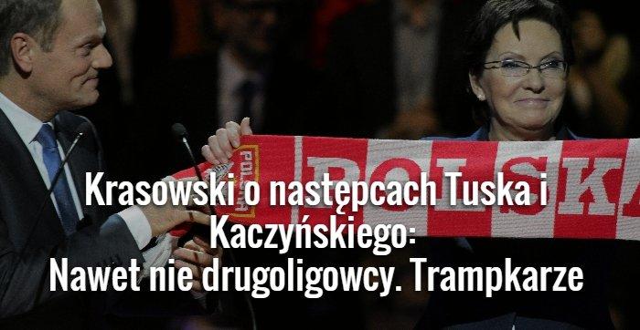 Krasowski o następcach