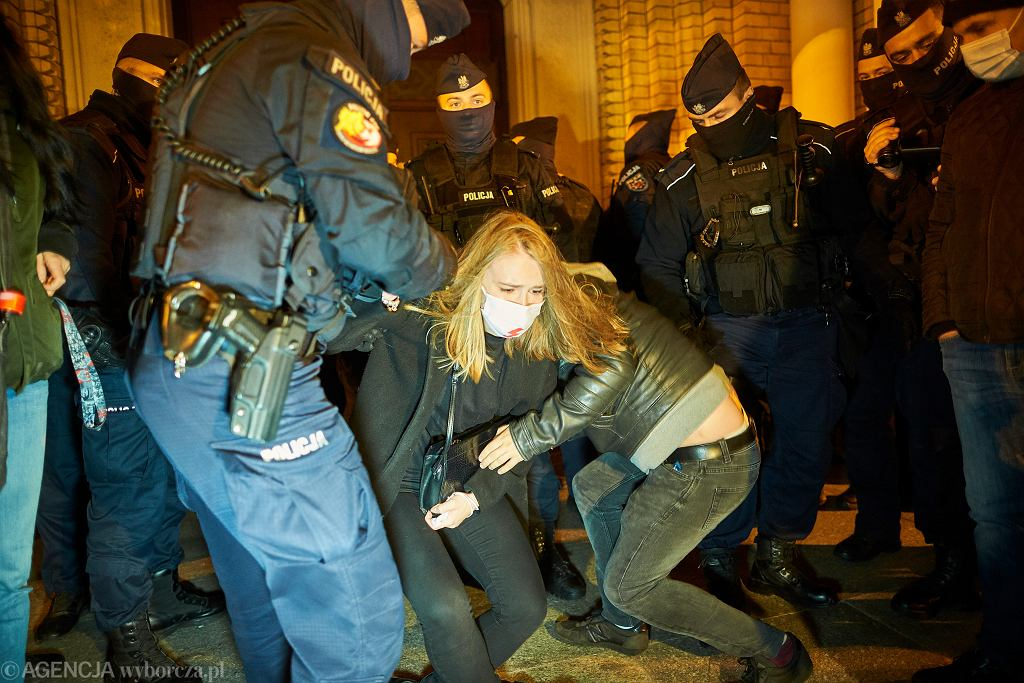 Strajk Kobiet w Łodzi
