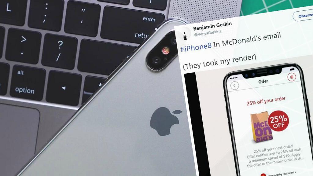 McDonald's 'ujawnia' wygląd iPhone'a 8?