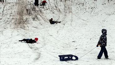 W te zimowe ferie na śnieg w Poznaniu podobno nie ma co liczyć