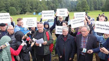 Usnarz Górny. Akcja sprzeciwu wobec niehumanitarnych działań władz wobec uchodźców
