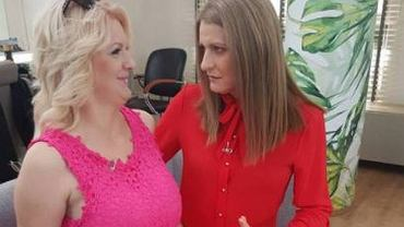 Karolina 'Bridgette' Plachimowicz i mentorka Irena Kamińska-Radomska