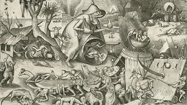 Pieter van der Heydel (1530 - 1572), Pycha, 1558 r., według Pietera Bruegela Starszego (1526-1530 - 1569)