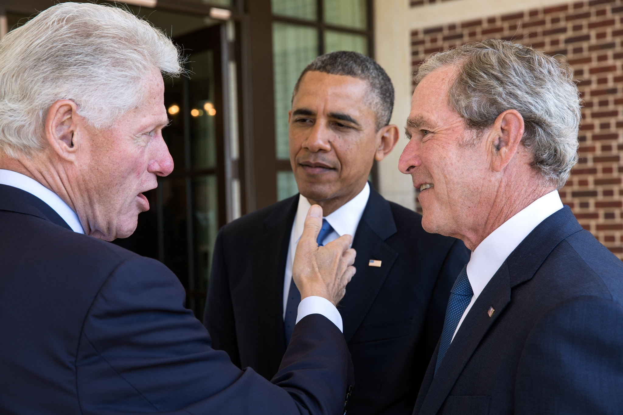 Prezydenci Clinton, Obama i Bush (fot. The White House / http://bit.ly/1zZ2hw0)